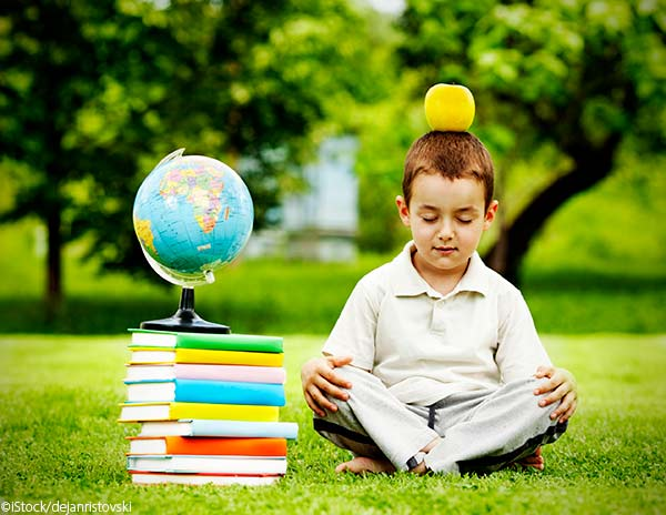 balance school and play