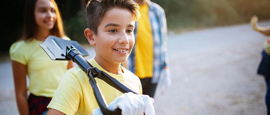 teen volunteering